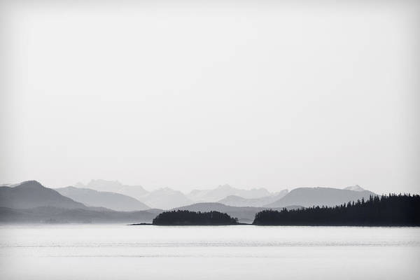 Juneau Photograph - Inside Passage Alaska by Carol Leigh