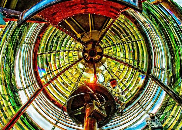 Photograph - Inside Sandy Hook Light by Nick Zelinsky