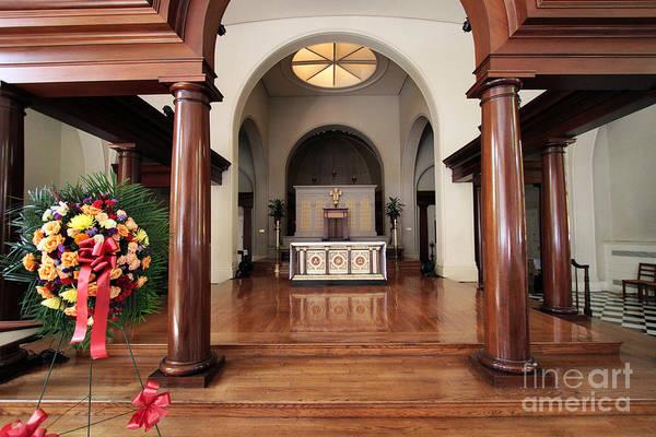 Photograph - Inside St Luke In The Fields Church by Steven Spak
