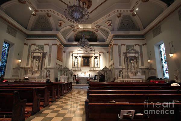 Photograph - Inside St Peter's Church by Steven Spak