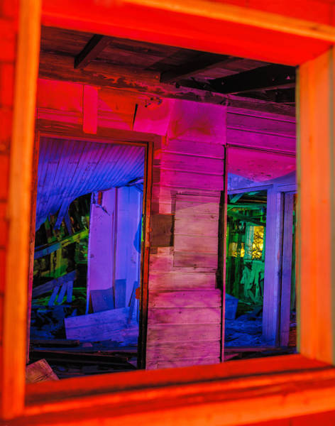Photograph - Inside The Big Orange Window by Scott Campbell