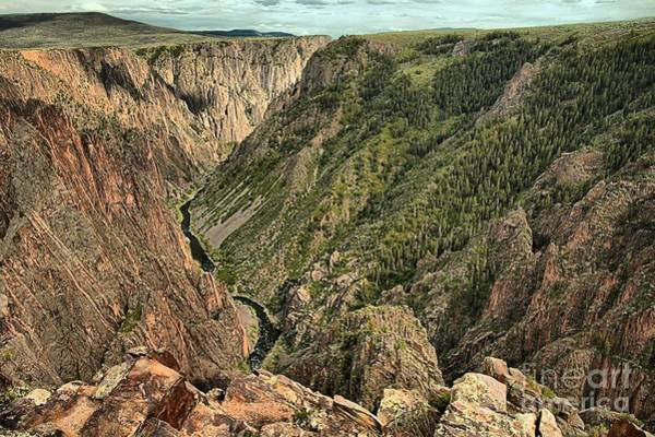 Photograph - Inside The Black Canyon by Adam Jewell