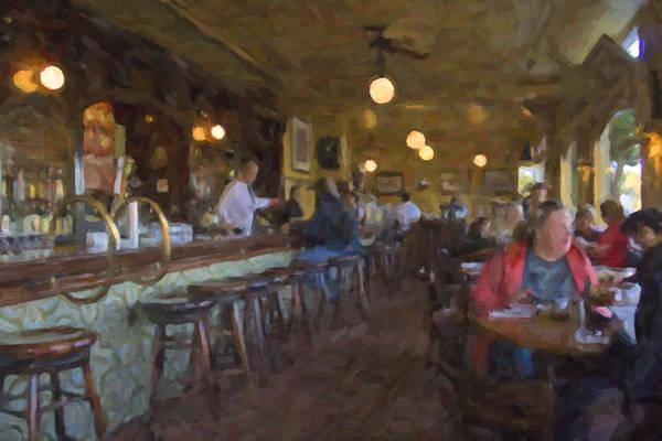 Photograph - Inside The Buena Vista by Tom Singleton