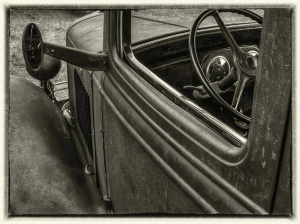 Photograph - Inside The Cab by Thomas Young