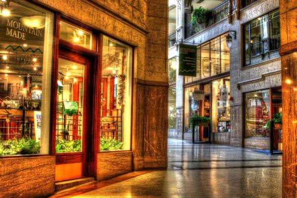 Photograph - Inside The Grove Arcade by Carol Montoya