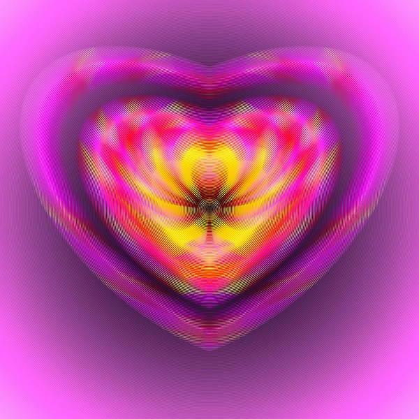 Digital Art - Inside The Heart by Visual Artist Frank Bonilla