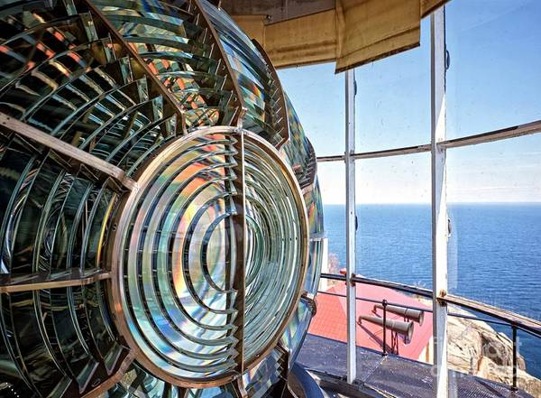 Photograph - Inside The Lighthouse by Pd