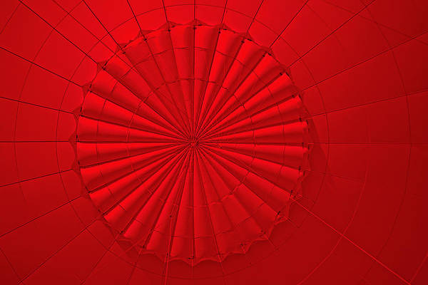 Photograph - Inside The Red Balloon by David Davies