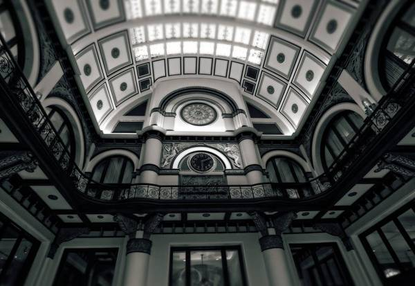 Railroad Station Photograph - Inside Union Station by Dan Sproul