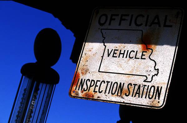 Inspection Station Art Print