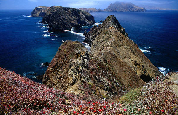 Channel Islands Photograph - Inspiration Point And Westward View by Stephen Saks