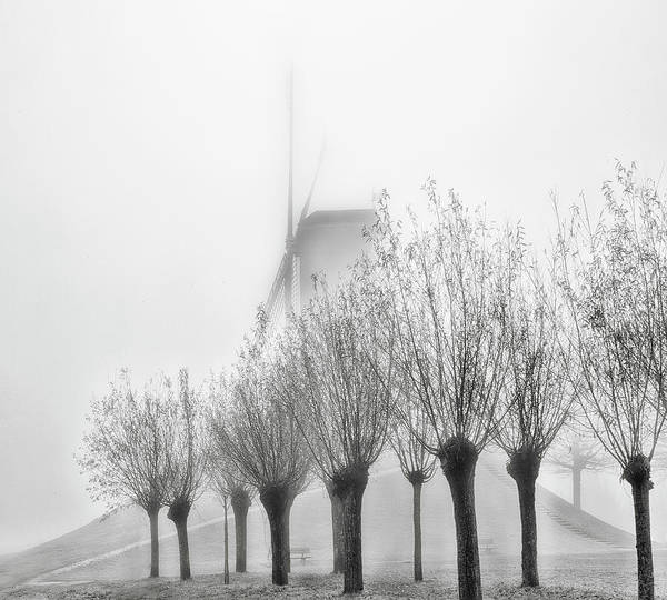 Windmills Photograph - Inspirational Scenery by Yvette Depaepe