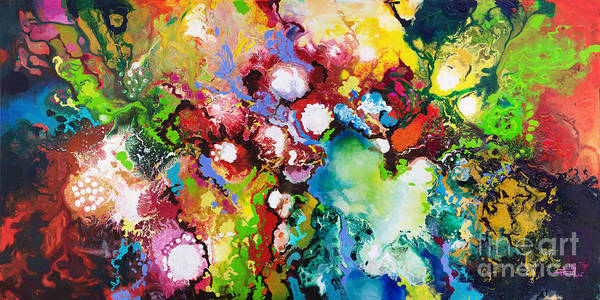 Painting - Inspiratus by Sally Trace