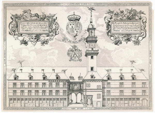 Wall Art - Drawing - Inspired By The Bourse At  Antwerp by Mary Evans Picture Library