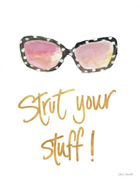 Sunglasses Painting - Inspired Sunglasses II by Lanie Loreth