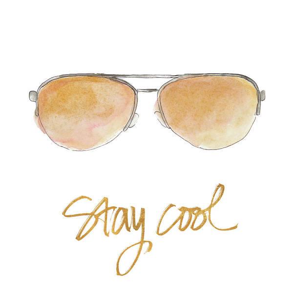 Sunglasses Painting - Inspired Sunglasses IIi by Lanie Loreth