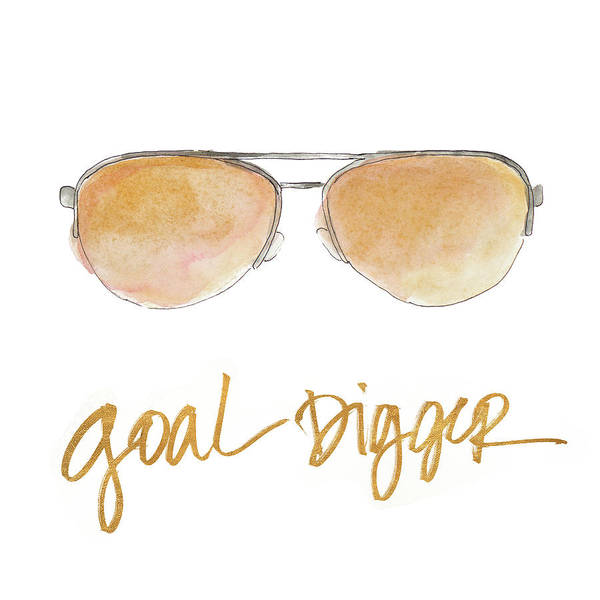Sunglasses Painting - Inspired Sunglasses Iv by Lanie Loreth