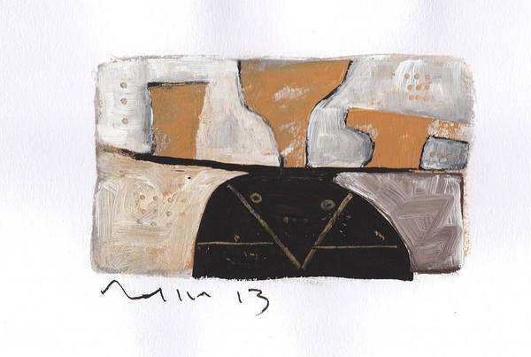 Yellow Ochre Painting - Instar No.6 by Mark M  Mellon