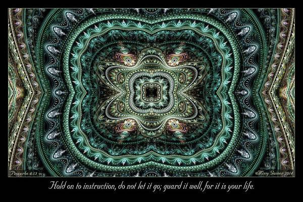 Digital Art - Instruction by Missy Gainer