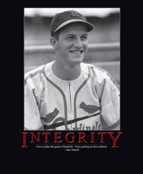 Integrity Stan Musial Art Print