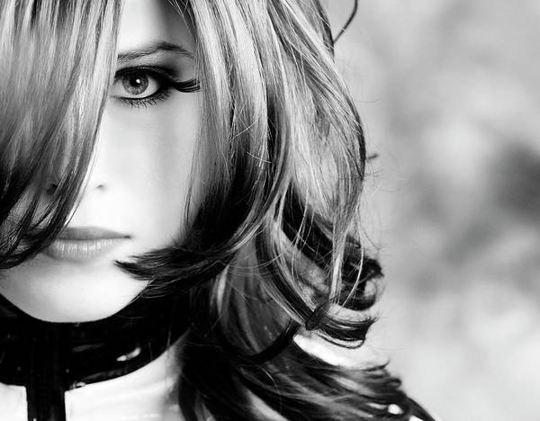 Beautiful People Photograph - Intense Look by Stock colors