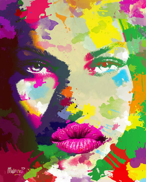 Attractive Digital Art - Intensity by Anthony Mwangi