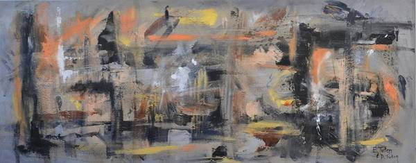 Painting - Intensity by Donna Tuten