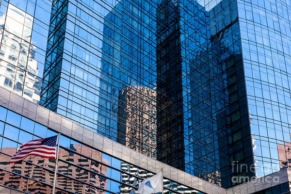 Photograph - Intercontinental Reflections by Susan Cole Kelly