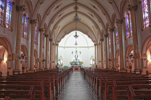 Minas Gerais Wall Art - Photograph - Interior Da Igreja Matriz De Santa Rita by Antonello