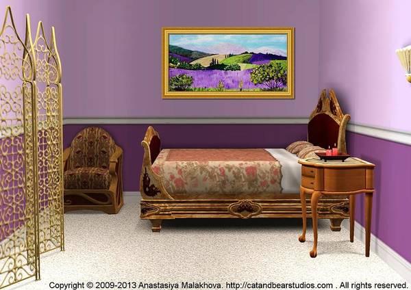 Digital Art - Interior Design Idea - Pays De Sault by Anastasiya Malakhova