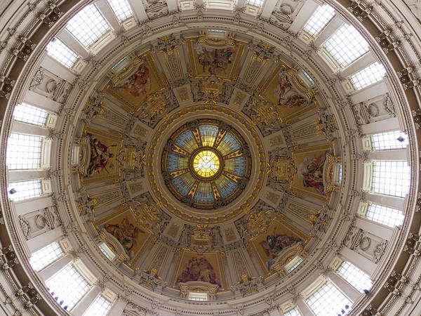 Berlin Cathedral Photograph - Interior Of Dome Of Berlin Cathedral by Panoramic Images