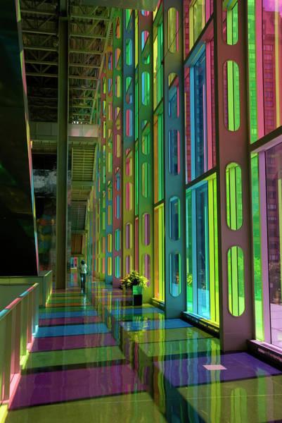 Montreal Photograph - Interior Of Palais Des Congres by Krzysztof Dydynski