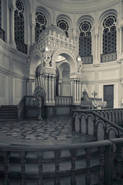 Choral Wall Art - Photograph - Interior Of The Grand Choral Synagogue by Panoramic Images