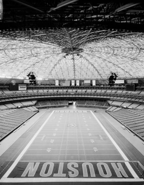 Wall Art - Photograph - Interior Of The Old Astrodome by Mountain Dreams