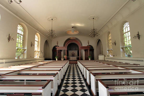 Photograph - Interior View Of St Luke In The Fields by Steven Spak