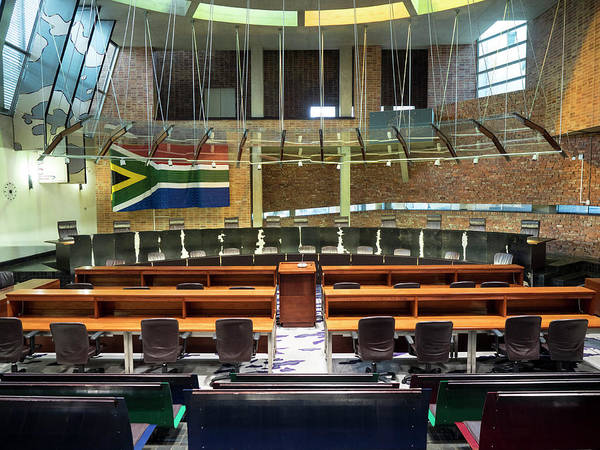 Johannesburg Wall Art - Photograph - Interiors Of Constitutional Court by Panoramic Images
