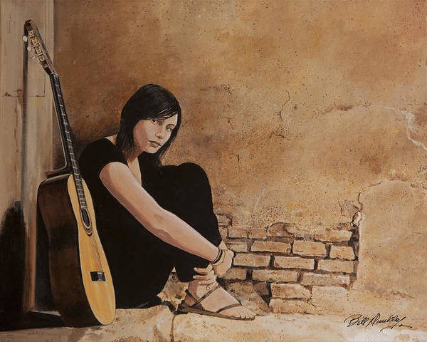 Wall Art - Painting - Interlude by Bill Dunkley