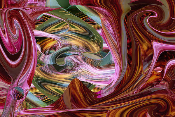 Digital Art - Internal Life by rd Erickson