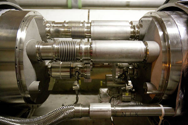 Particle Accelerator Wall Art - Photograph - Internal Structure Of The Lhc by Adam Hart-davis/science Photo Library