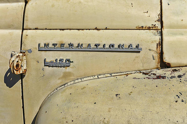 Photograph - International L-120 Series by Thomas Young