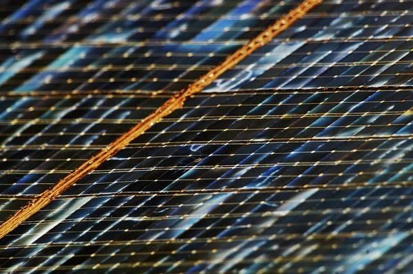 Solar Panels Photograph - International Space Station Solar Panel by Nasa