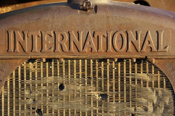 Wall Art - Photograph - International Truck Emblem by Mike McGlothlen