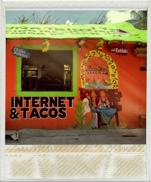 Wi Photograph - Internet And Tacos by Dominic Piperata