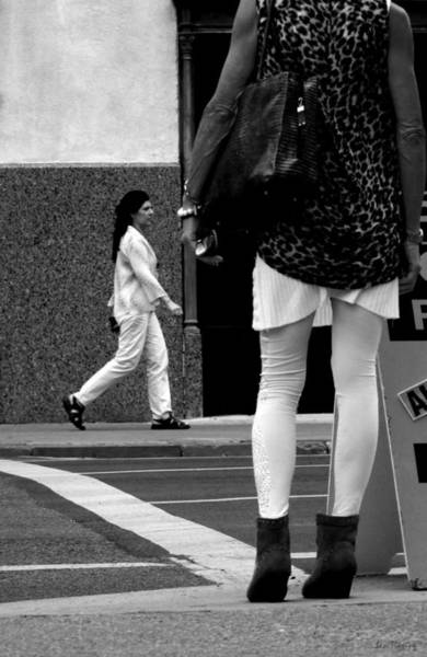 Tight Pants Photograph - Intersection by Lin Haring