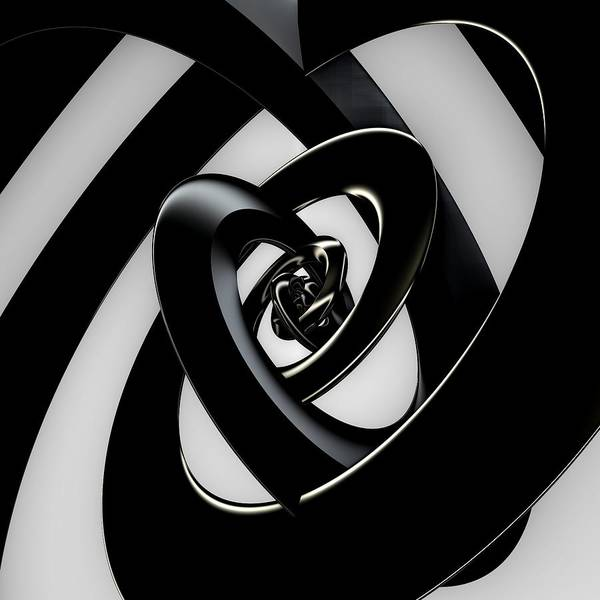 Light And Shadow Digital Art - Intersection by Lyle Hatch