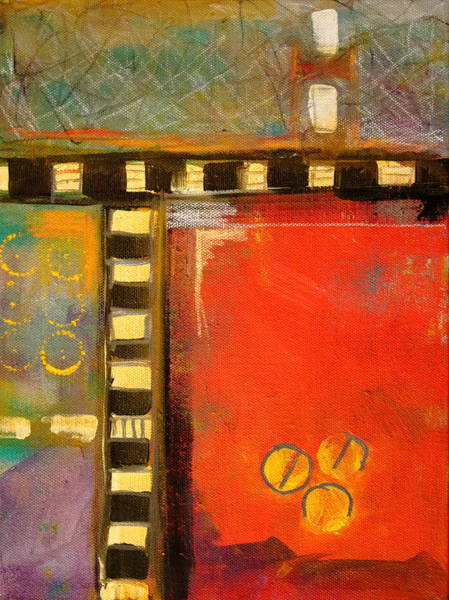 Wall Art - Painting - Intersection by Nancy Merkle