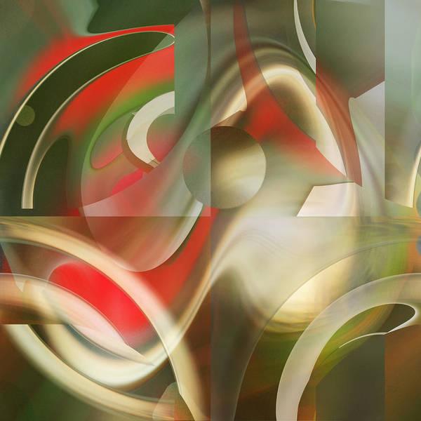 Digital Art - Intersection by rd Erickson