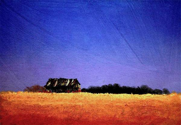 Interstate Landscape #1 Art Print