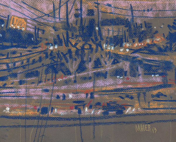 Highway Painting - Interstate Seventy Five by Donald Maier