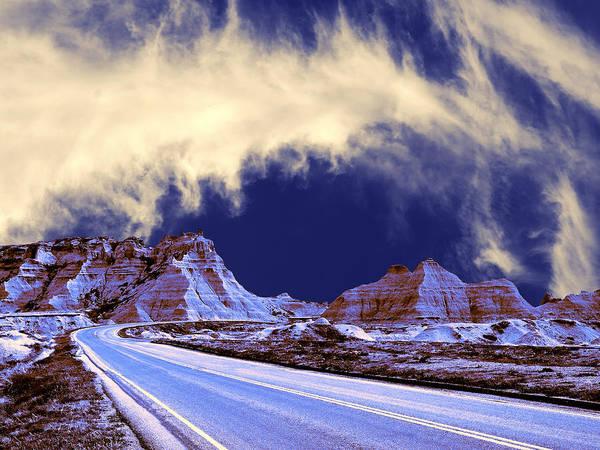 North Dakota Badlands Wall Art - Photograph - Into The Badlands by Dominic Piperata